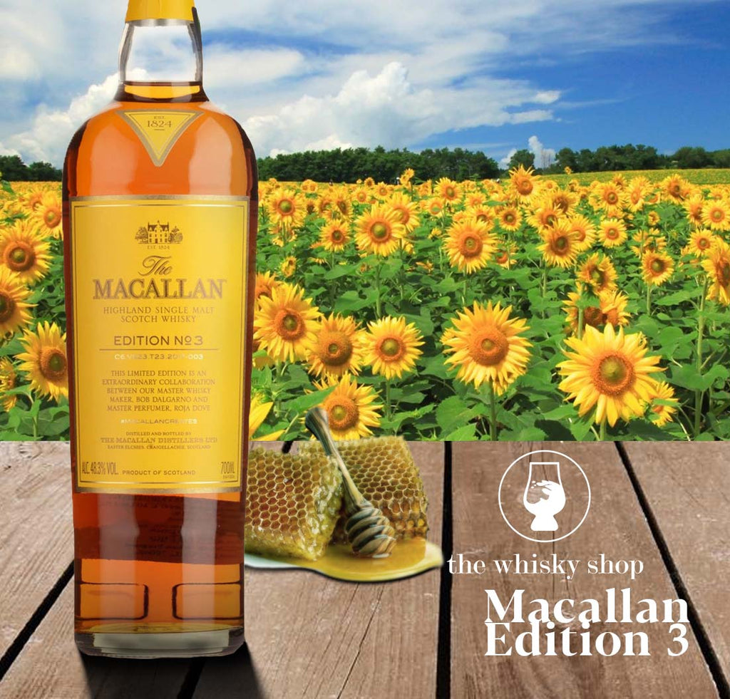 Macallan Edition No. 3 with Free Jim Murray Whisky Bible - The Whisky Shop Singapore