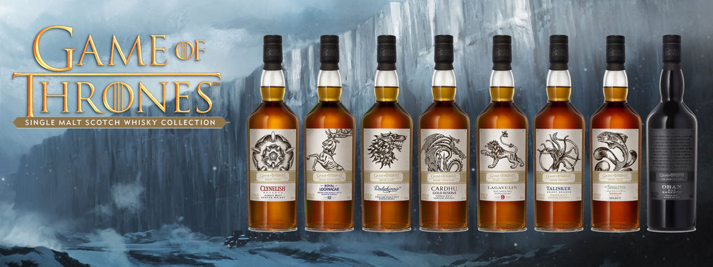 Game of Thrones Whisky Collection (8 Bottles) - The Whisky Shop Singapore