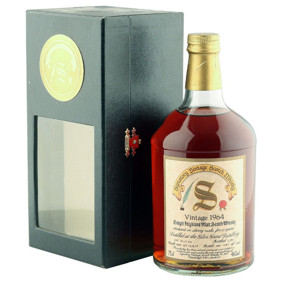 Glen Grant 1964 25 Years Signatory Vintage - The Whisky Shop Singapore