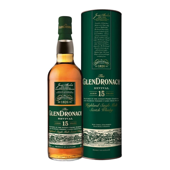 Glendronach 15 Years Old Revival - 2018 - The Whisky Shop Singapore