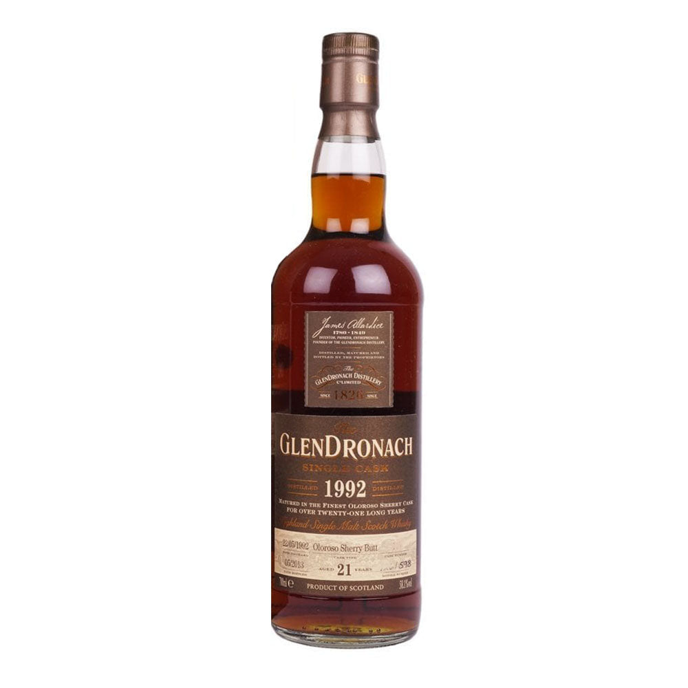Glendronach 1992 21 Years Cask 195 - The Whisky Shop Singapore