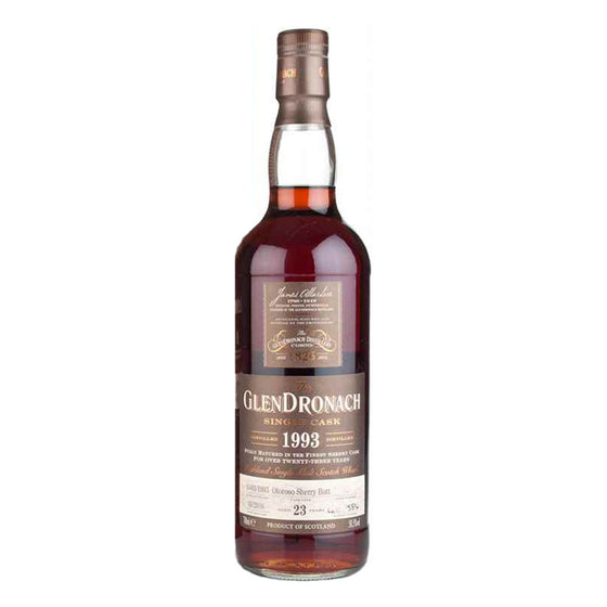 Glendronach 1993 23 Years Cask 564 - The Whisky Shop Singapore