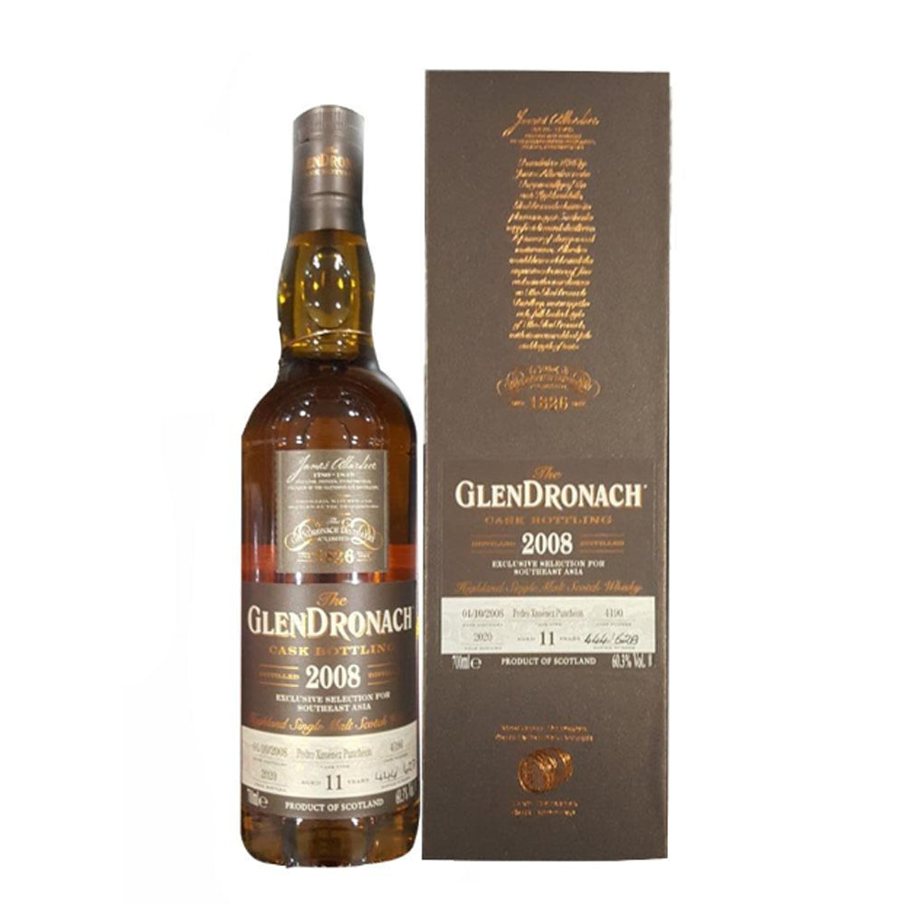 Glendronach 2008 11 Years old Exclusive Selection For Southeast Asia