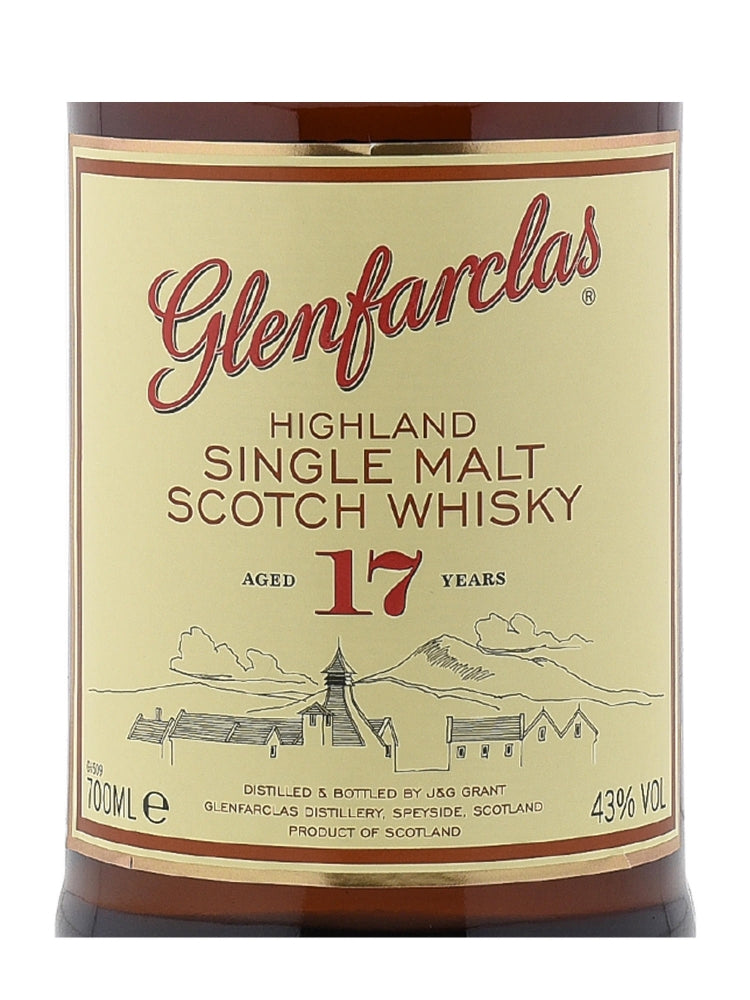 Glenfarclas 17 Years Old - The Whisky Shop Singapore