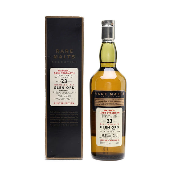 Glen Ord 1973 23 Years Rare Malts Selections