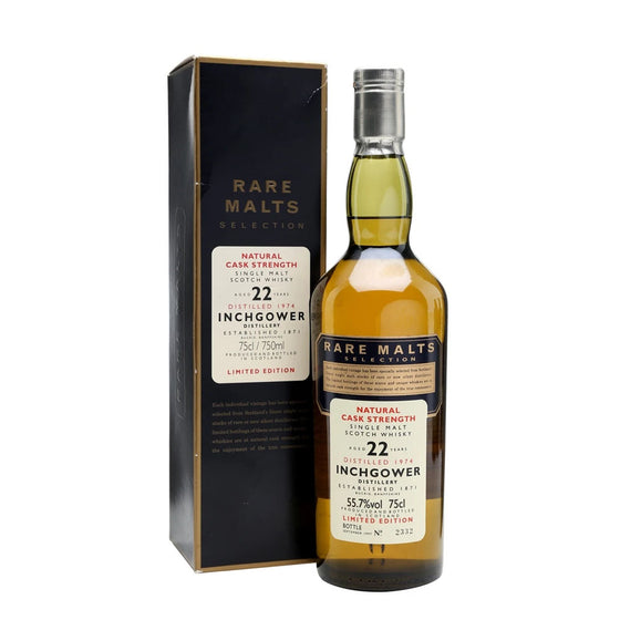 Inchgower 1974 22 Years Rare Malts Selections