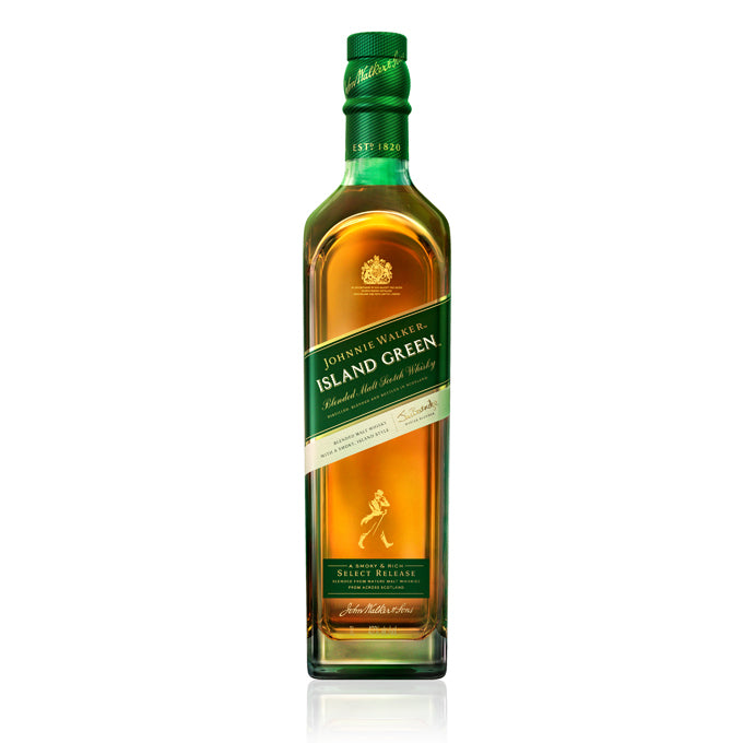 Johnnie Walker Island Green 1L - The Whisky Shop Singapore