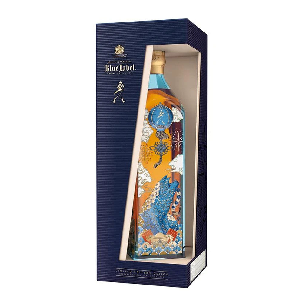 Johnnie Walker Blue Label - Year of the PIG (75cl) FREE WHISKY BIBLE WHEN SPEND ABOVE $300