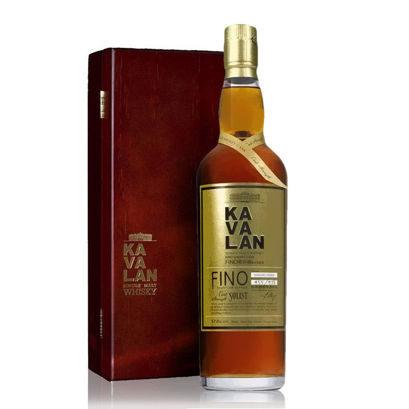 Kavalan Solist Fino Sherry - The Whisky Shop Singapore