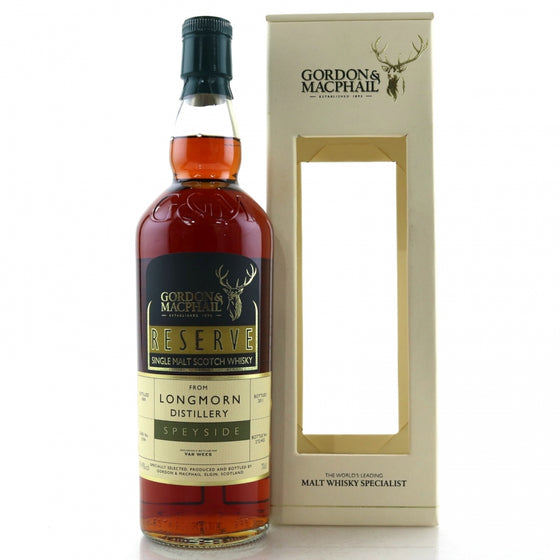 Longmorn 1969 42 Years Gordon & MacPhail Reserve for Van Wees - The Whisky Shop Singapore