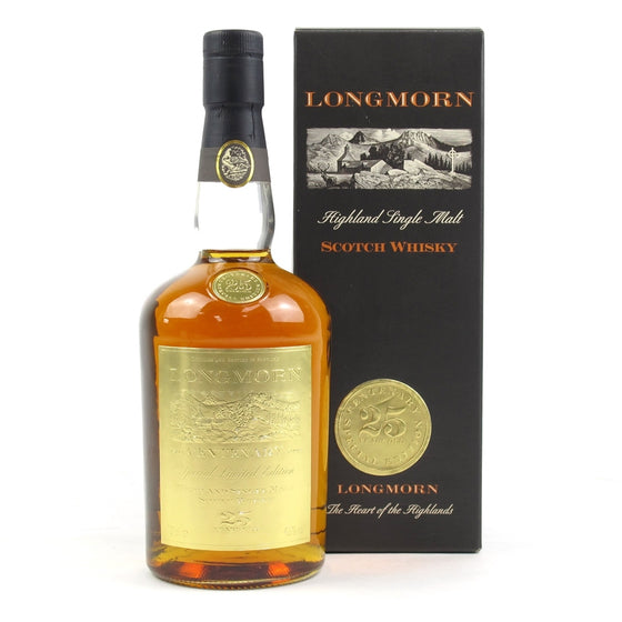 Longmorn 25 Years Centenary - The Whisky Shop Singapore