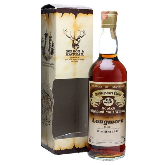 Longmorn 1957 25 Years Gordon & MacPhail - Connoisseurs Choice