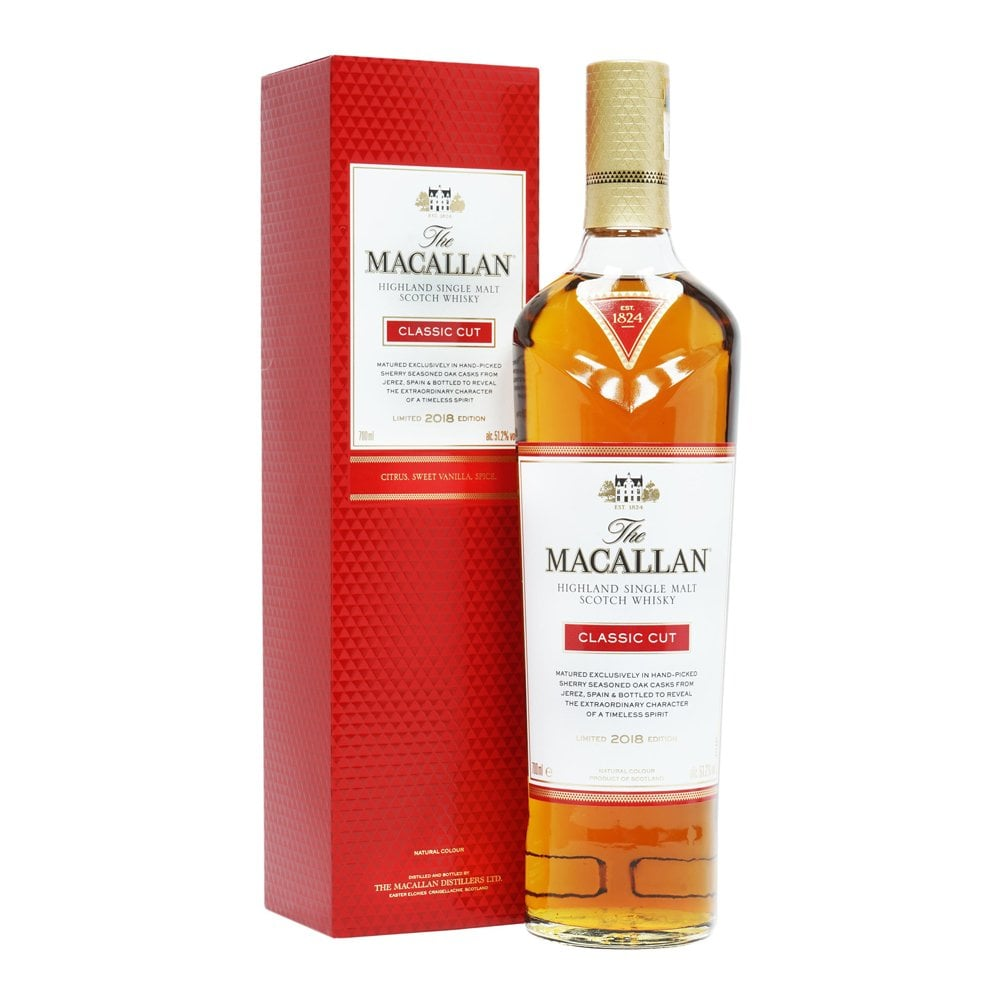 Macallan Classic Cut Limited Edition 2018 - The Whisky Shop Singapore