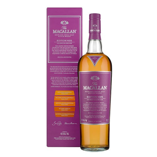 Macallan Edition No. 5 with Free Jim Murray Whisky Bible - The Whisky Shop Singapore