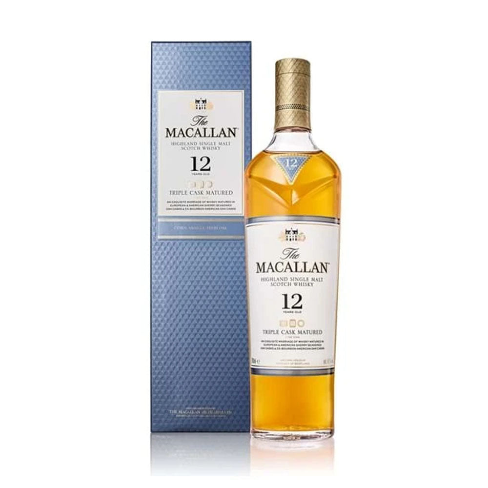 Macallan 12 Triple Cask Matured