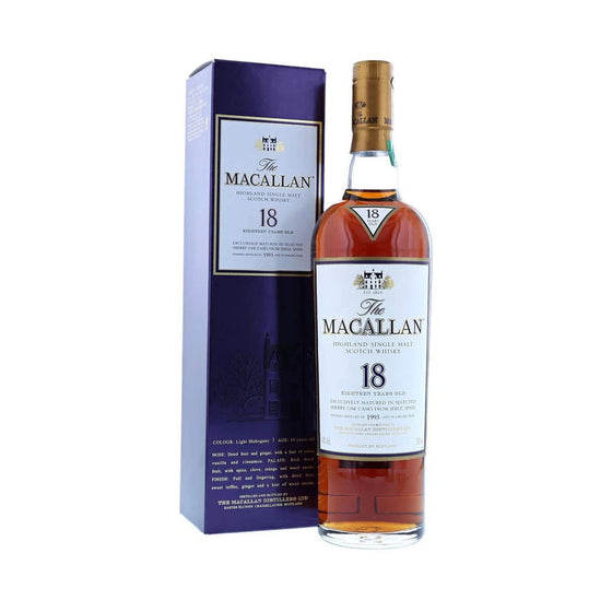 Macallan 1993 18 Years Sherry Oak