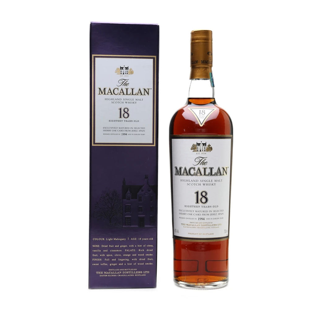 Macallan 1994 18 Years Sherry Oak