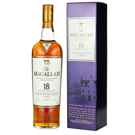 Macallan 1996 18 Years Sherry Oak