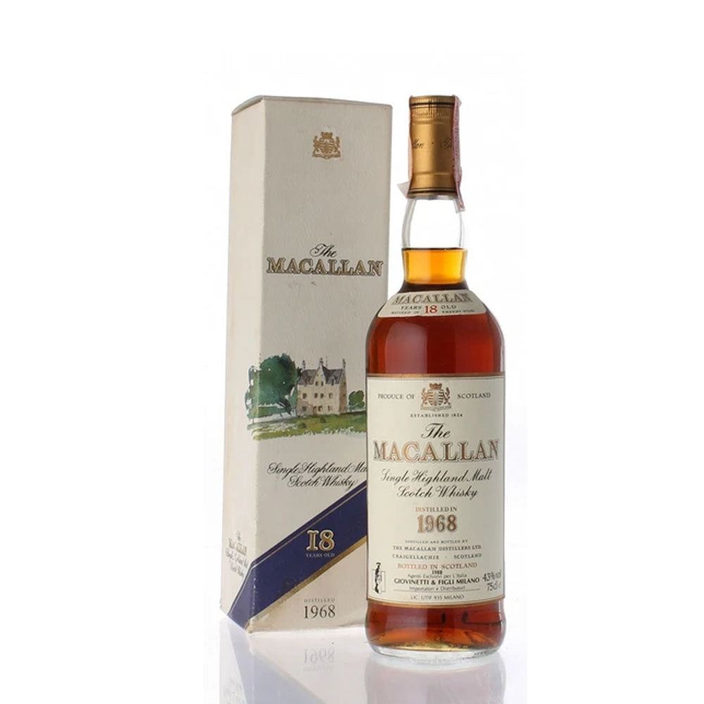 Macallan 1968 18 Years Giovinetti
