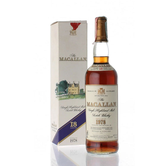 Macallan 1978 18 Years - Giovinetti