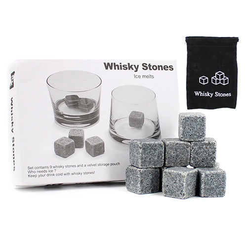 Whisky Stone Set