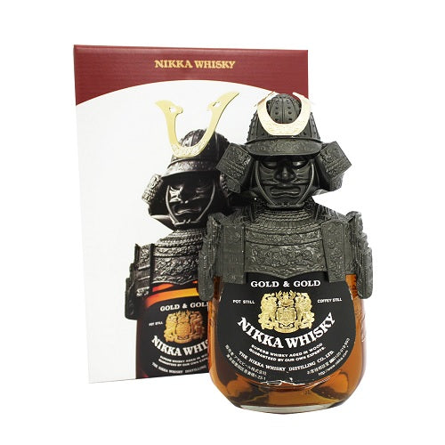 Nikka Gold & Gold Samurai (White box) FREE whisky bible when spend above $300 - The Whisky Shop Singapore