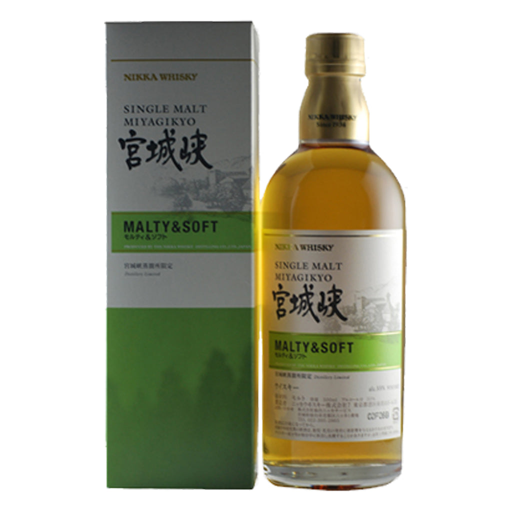 Nikka Miyagikyo Malty & Soft - The Whisky Shop Singapore