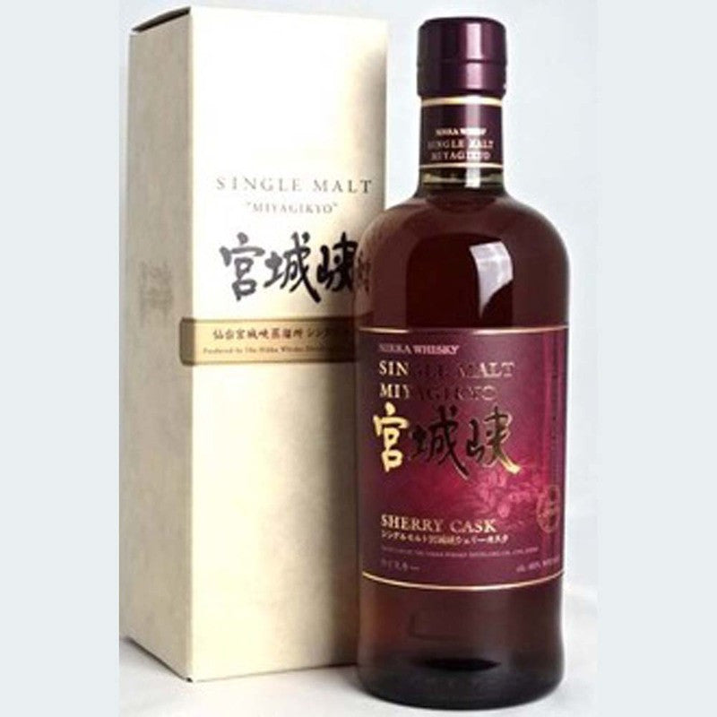 Nikka Miyagikyo Sherry Cask - The Whisky Shop Singapore