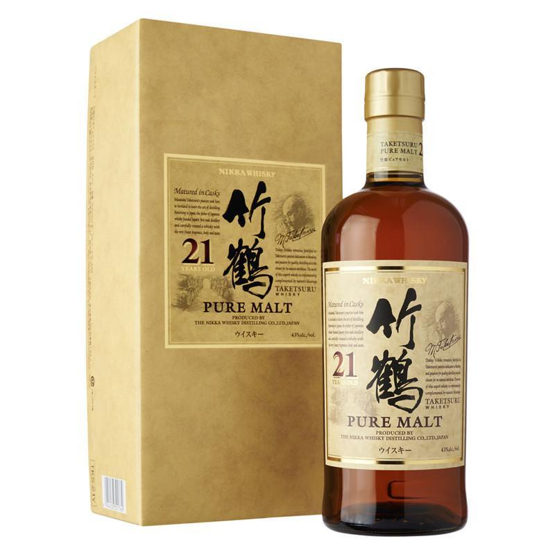 Nikka Taketsuru 21 Years - The Whisky Shop Singapore
