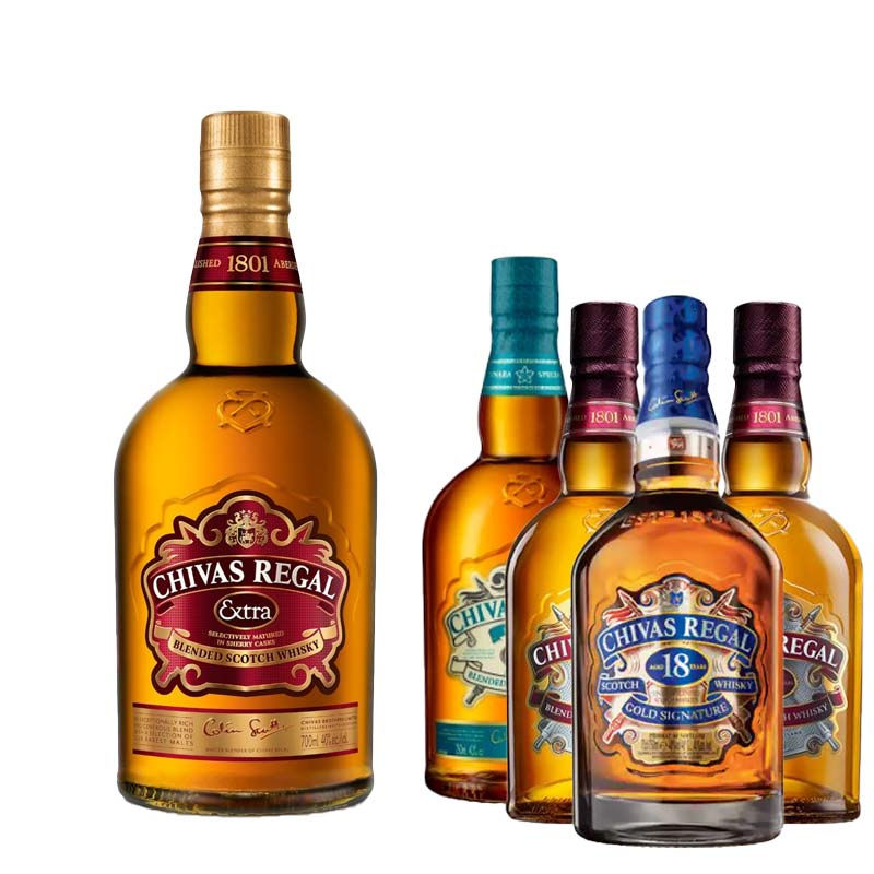 Mix & Match Chivas Regal Bundle Promotion (Free Chivas Regal Extra Delivered In Same Order) - The Whisky Shop Singapore