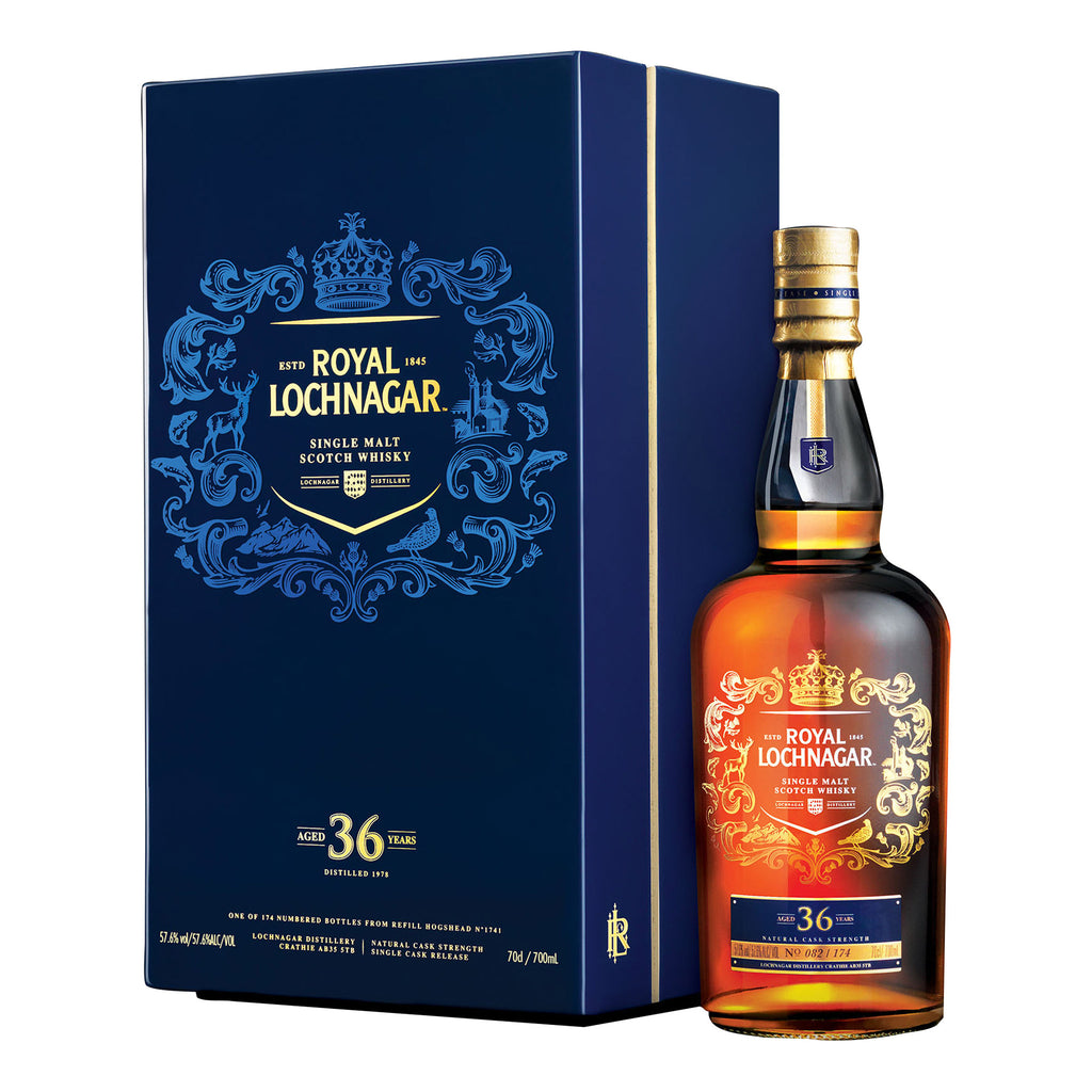 Royal Lochnagar 36 Years - The Whisky Shop Singapore