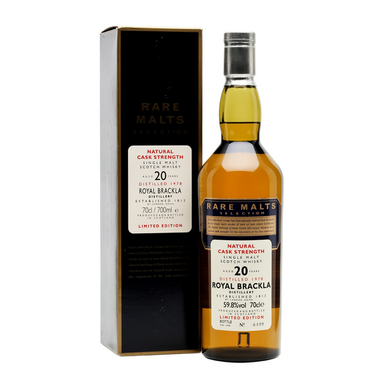 Royal Brackla 1978 20 Years - Rare Malts Selection