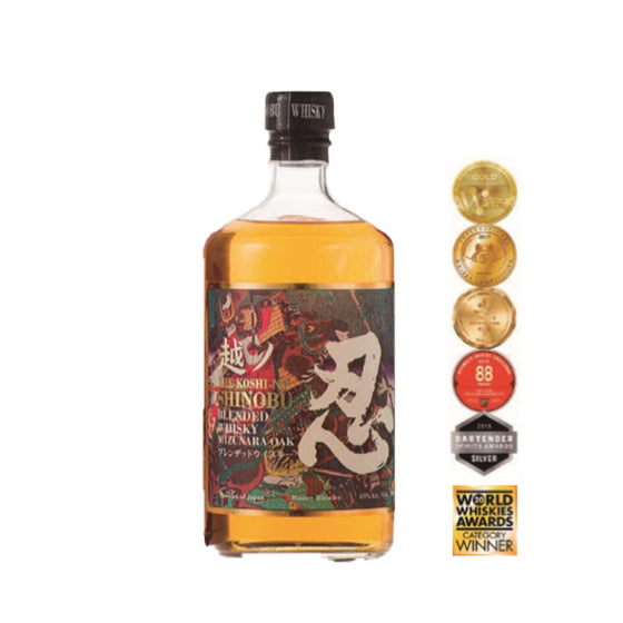 Shinobu Blended Whisky Mizunara Oak Finish