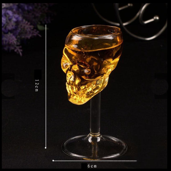 Skull Glass/Crystal Head Glass 55ml - The Whisky Shop Singapore