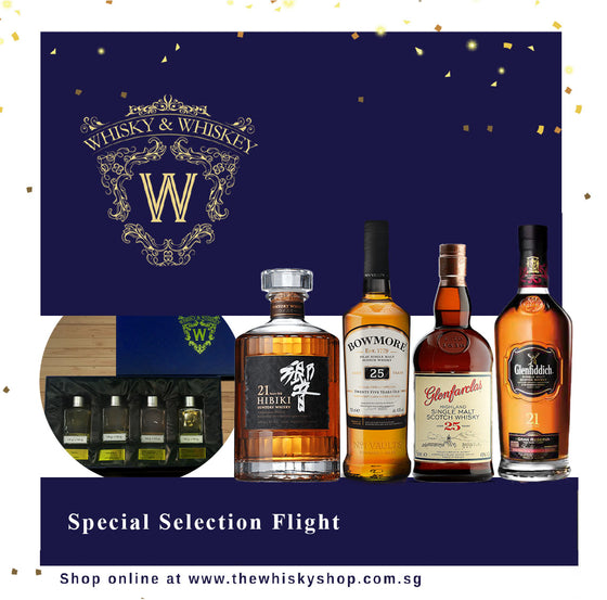 Special Selection Dram Flight - The Whisky Shop Singapore
