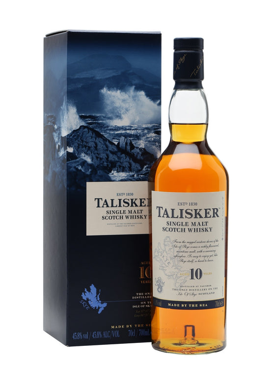 Talisker 10 Years - The Whisky Shop Singapore