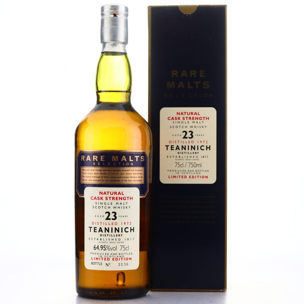 Teaninich 1972 23 Years Rare Malts Selection - The Whisky Shop Singapore