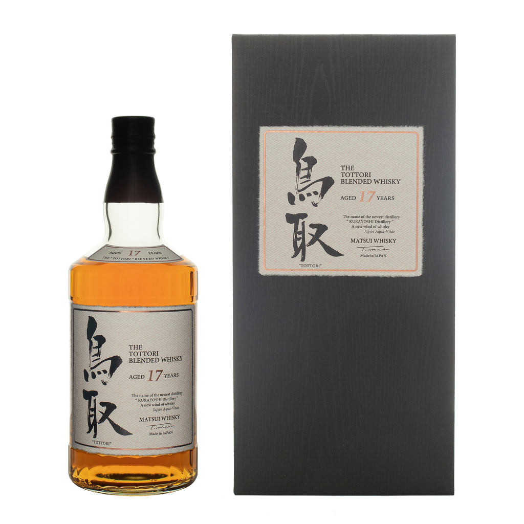 Tottori 17 Years Old Japanese whisky