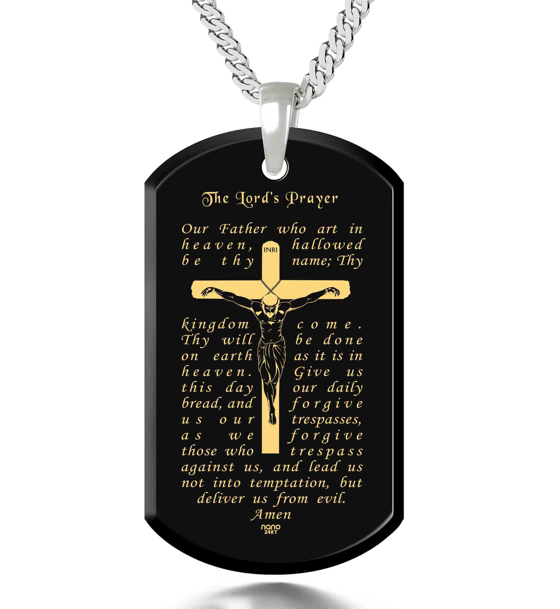 Catholic Necklaces - Nano Jewelry