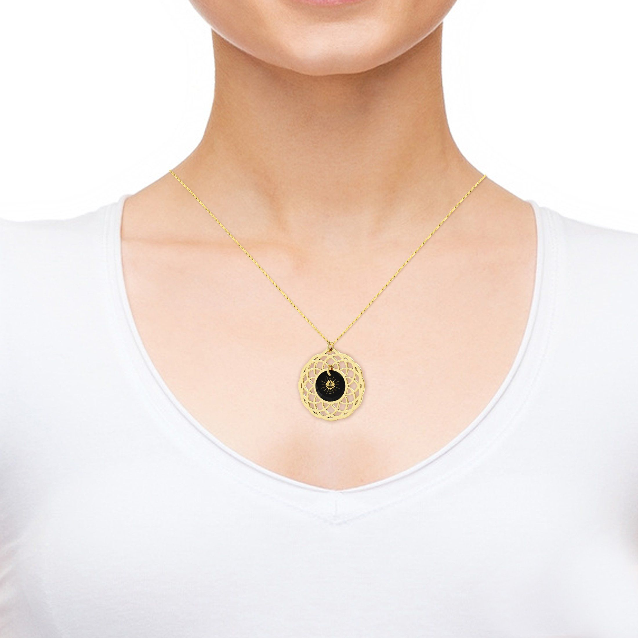 Meditation Jewelry for Her, Nano Jewelry