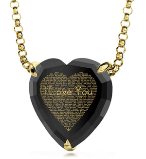 "Special Valentines Day Ideas for Her: ""I Love You"" in All Languages - Nano Jewelry"