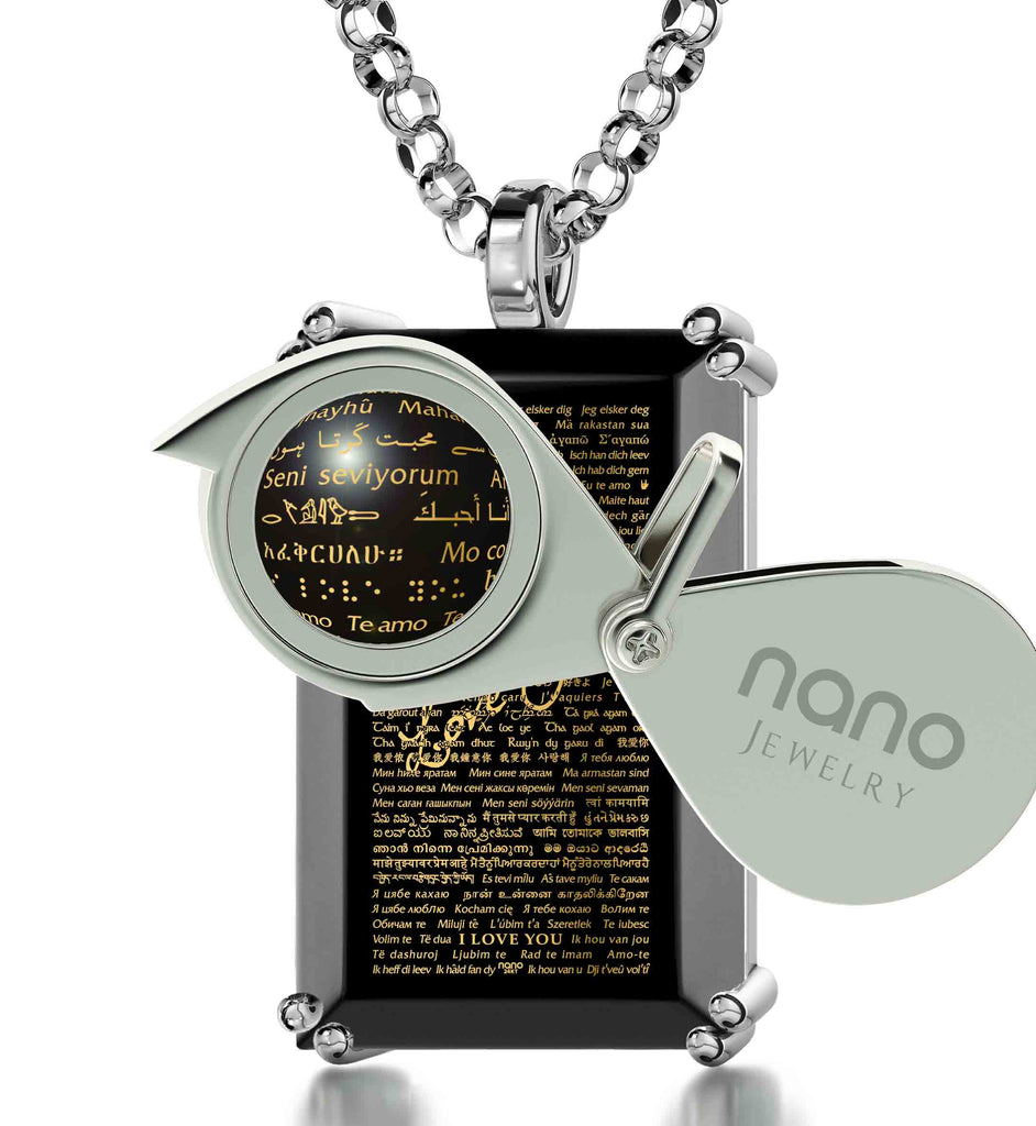 Best Valentines Day Ideas for Him - Romantic Gift in All Languages - Nano Jewelry