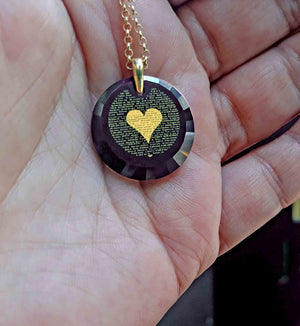 "Amazing Valentines Day Ideas for Her: ""I Love You"" in 120 Languages - Round Facets - Nano Jewelry"