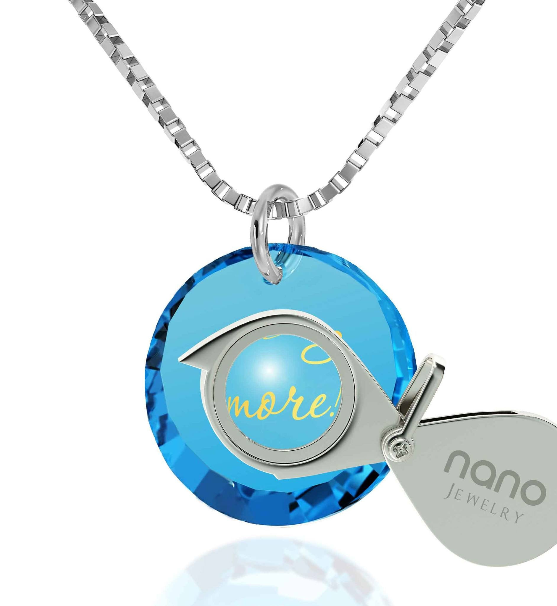 I Love You More Jewelry For Her Fine Taste Discover Nano Jewelry Now