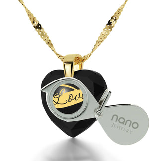 Best Valentine Gift for Girlfriend, Gold Filled Necklace, Christmas Presents for Wife, by Nano Jewelry