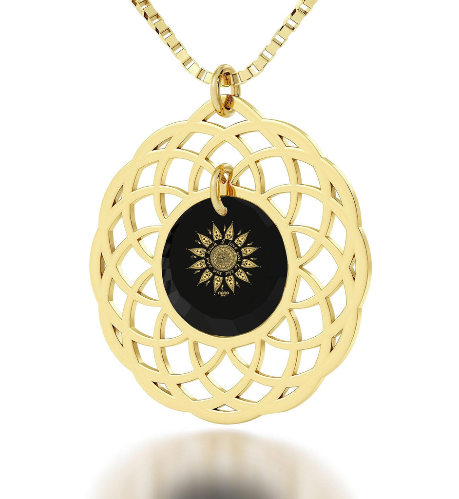 """Presents for Girlfriend,""I Love You to the Sun and Back"" in 24k Gold Gift Ideas for Women"""