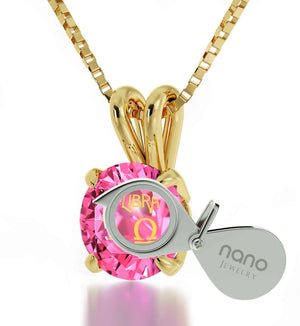 """What To Get Your Best Friend  for Her Birthday, Libra Sign Engraved on Pink Jewelry, Unusual Mothers Day Gifts"""