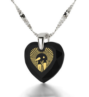 """Great Valentines Gifts for Her,""I Love You to The Moon and Back"" Jewelry, Xmas Gifts for Wife, Nano"""