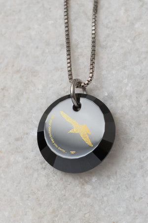 "College Graduation Gifts: ""Let Your Dreams Take You Away"", Daughter Gifts, Sea Gull Necklace, Nano Jewelry"