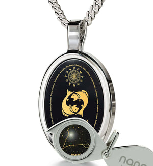Cool Mens Necklaces: Zodiac Signs Characteristics, Meaningful Jewelry, Birthday Surprises for Him by Nano